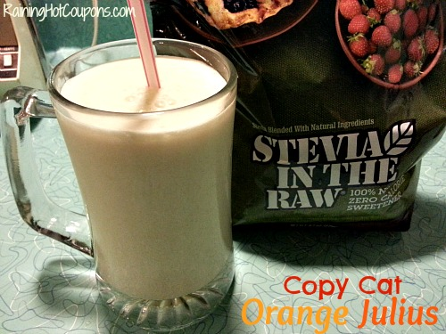Copy Cat Orange Julius Recipe