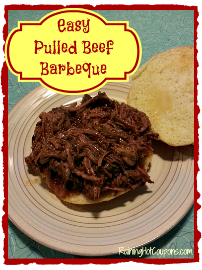 Pulled Beef Barbeque Main