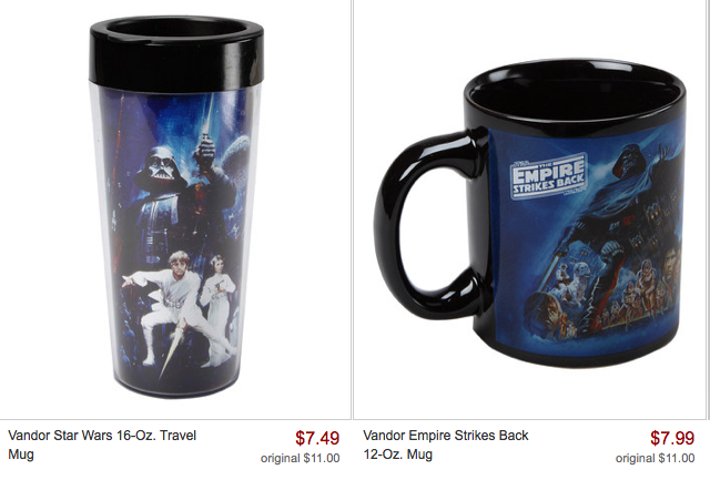 Screen Shot 2013 05 04 at 9.14.54 AM *HOT* Zulily: Star Wars Collection Items As Low As $5.99