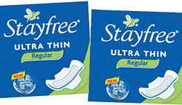 Stayfree-pads