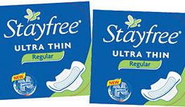 Stayfree-pads