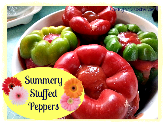 Summery Stuffed Peppers Recipe ~ For Now and Later!