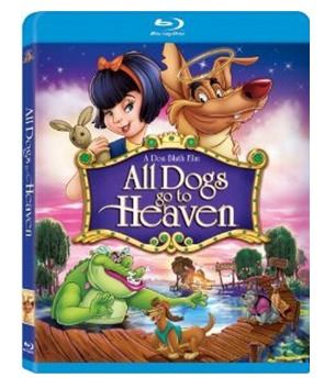 Amazon: All Dogs Go to Heaven [Blu ray] Only $4.99 Shipped (Reg. $16.99!)