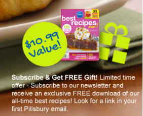 best recipes FREE Pillsbury All Time Best Recipes eCookbook! ($10.99 value)