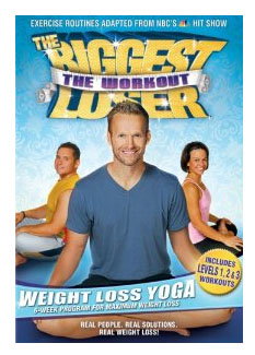 biggest loser yoga dvd The Biggest Loser: The Work out  Weight Loss Yoga DVD Only $6.97 (Reg. $14.98)!