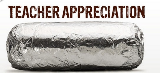 chipotle teacher appreciation