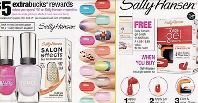  *HOT* $4/1 Sally Hansen Nail Color Coupon = 2 for FREE at CVS + Moneymaker!