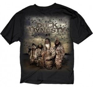 You can also get this Duck Dynasty T-Shirt , featuring the whole gang