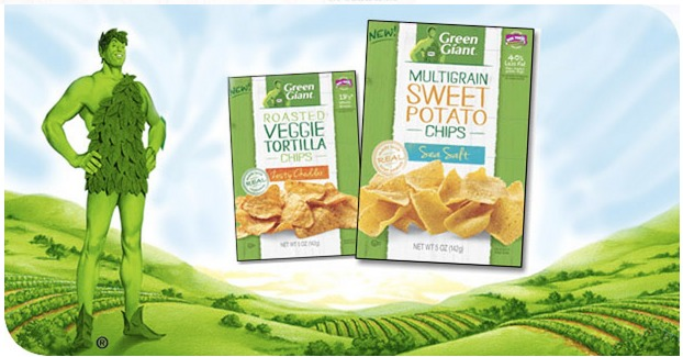 FREE Bag of Green Giant Veggie Chips (Sign up Now and Be Ready   First 10,000!)