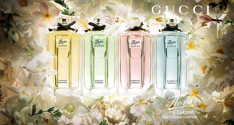 gucci FREE Gucci Flora Fragrance Sample