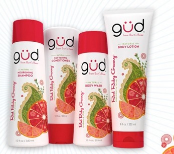 FREE gud Red Ruby Groovy Shampoo and Conditioner Sample!