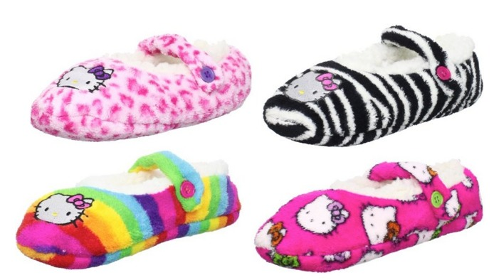 43b5a6e8a Amazon: *HOT* Hello Kitty Women's Fuzzy Slippers Only $3.75 Shipped ...