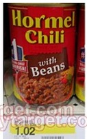 Target: *HOT* Hormel Chili with Beans Only $0.47 a Can (Stock Up Price!)