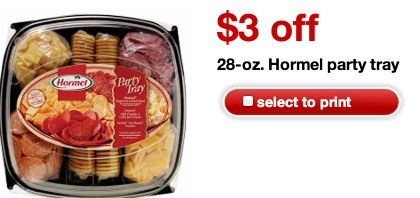 *HOT* LARGE Hormel Party Trays Only $4.19 at Target (Reg. $10.99)!