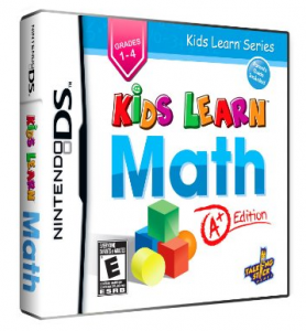 kidslearnmath Kids Learn Math Nintendo DS Game $13.53