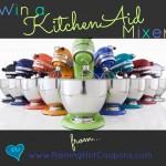 *HOT* Giveaway: Enter to Win a KitchenAid Mixer (1 Raining Hot Coupons' Reader Will Win!)