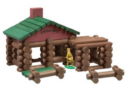 Amazon: Lincoln Logs Classic Edition Tin Lincoln Logs Set $27.99 + FREE Shipping (Reg. $44.99!)