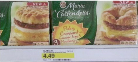 Target: Marie Callender's Breakfast Sandwich Box Only $1.99 (Reg. $4.49!)