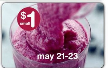 McDonalds: McCafé Blueberry Pomegranate Smoothie Only $1.00!