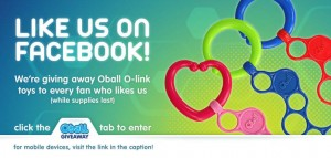 oball 300x143 Enter to win an OBall Toy!