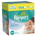 Pampers Wipes Less Than 2 Cents Each! 504 Count Only $8.28 Delivered to You!