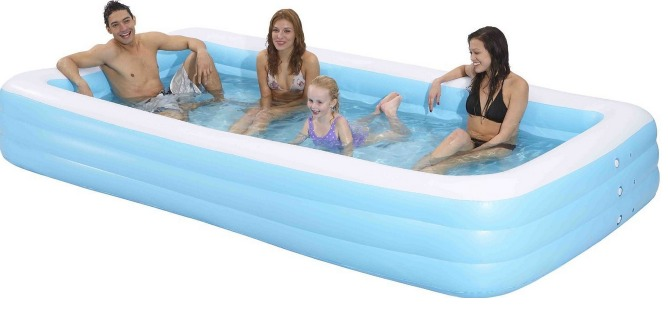 if youve been wanting a pool thats easy to set up but good for the kiddos to have room to play in then you may love this next amazon deal