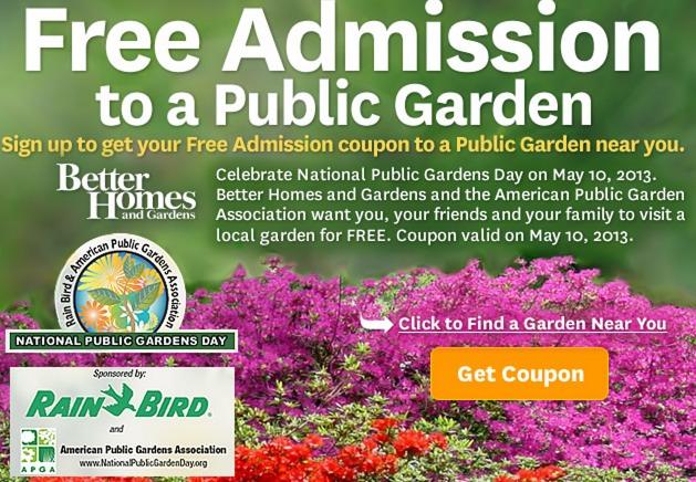 public garden day