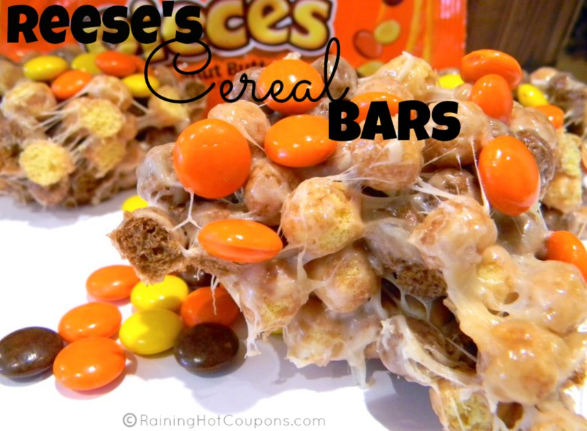 reeses cereal bars