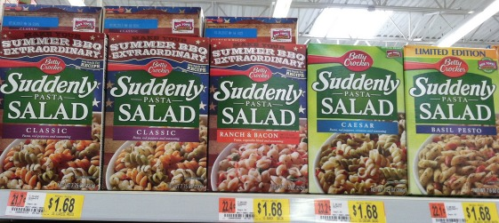 Walmart: Suddenly Salad Only $1.43 a Box