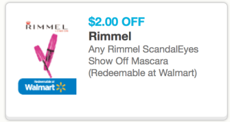 screen shot 2013 05 06 at 5 48 40 pm High Value $2/1 Rimmel ScandalEyes Show Off Mascara Coupon = Only $3.49 Each at CVS