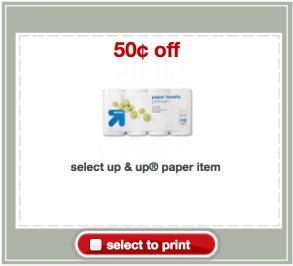 screen shot 2013 05 21 at 9 14 31 pm UP&Up Paper Towels Only $0.47 at Target!