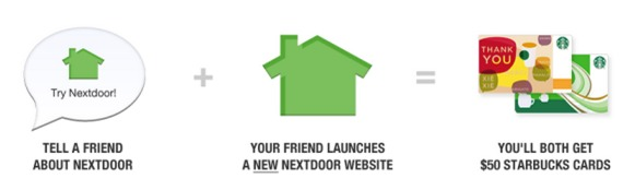*HOT* FREE $50 Starbucks Gift Card from Nextdoor Social Network Site! (+ Picture That it Really Comes!)