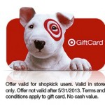 *HOT* FREE $2 Target Gift Card from Shopkick!