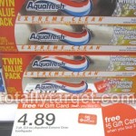 Aquafresh Extreme Clean Twin Packs Only $0.69 Each at Target!