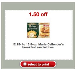 Marie Callendars Breakfast Sandwiches Only $1.99 at Target (Reg. $4.49)!