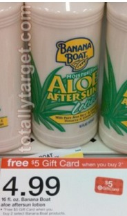 *HOT* Target: Banana Boat Suncare Products as low as $0.35 each!