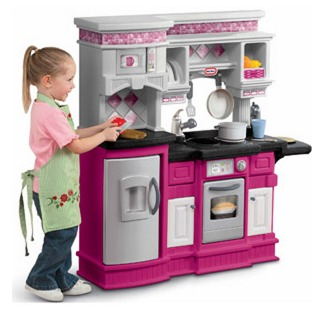 *HOT* Walmart: Little Tikes Gourmet Prep N Serve Pink Kitchen + Food Accessories $49.97 (Reg. $79.97!) + FREE Shipping