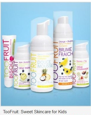 toofruit Too Fruit Organic Skincare for Kids As Low As $5.99 Shipped!