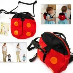 *HOT* Amazon: Baby Toddler Backpack with Safety Harnesses Strap Ladybug OR Bat Only $3.59 + FREE Shipping!