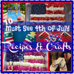 List of 4th of July Recipes and Crafts