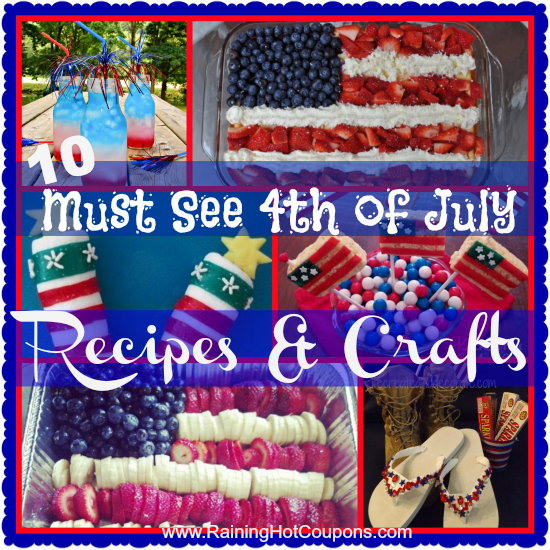 4thofjulysarah List of 4th of July Recipes and Crafts