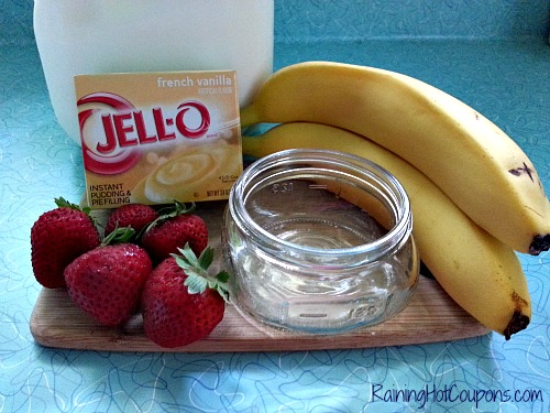 Banana Split in a Jar Ingredients Low Cost Recipes: Banana Split in a Jar