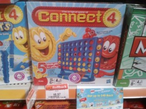 Connect 4 Board Game Deal