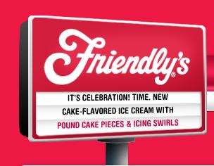 Friendlys Free Ice Cream at Friendlys!