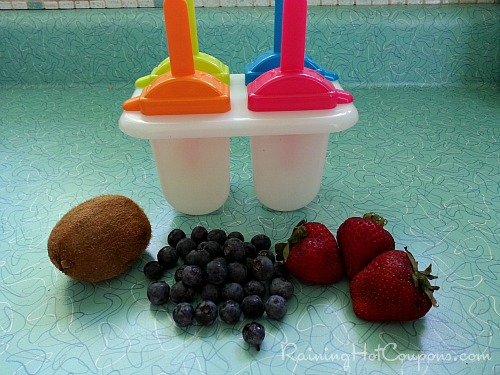 Recipe for real fruit smoothie