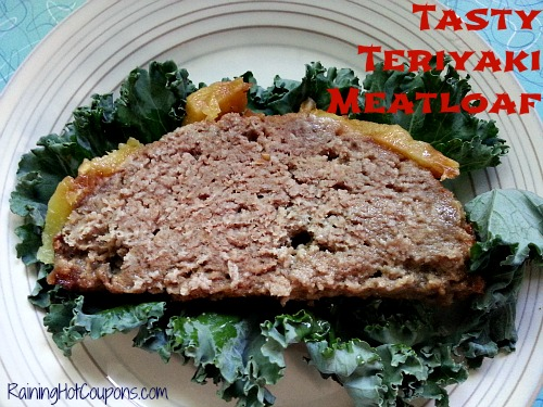 Teriyaki Meatloaf Recipe ~ Not Your Average Meatloaf!