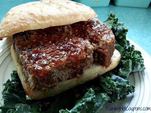 Teriyaki Meatloaf Sammy