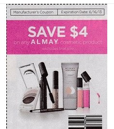 almay Super High Value $4/1 Almay Cosmetic Coupon in 6/2 SmartSource Insert = Awesome Deals