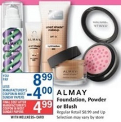 almayriteaid Super High Value $4/1 Almay Cosmetic Coupon in 6/2 SmartSource Insert = Awesome Deals