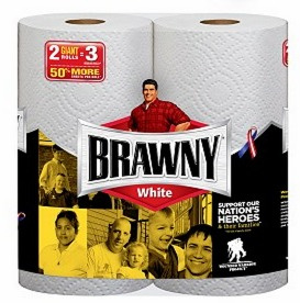 Rare $1.00/1 Brawny 2 Giant Roll Paper Towel Coupon